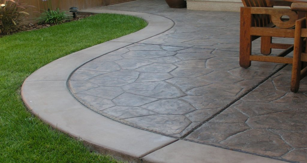 Concrete Patios Riverside, Stamped Concrete Patio Riverside