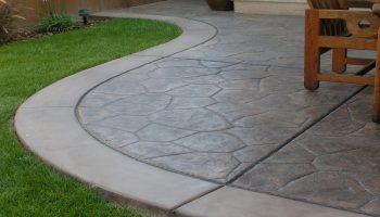 Concrete Patios Riverside, Stamped Concrete Patio Riverside